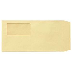 その他 (まとめ)TANOSEE 窓付封筒 ワンタッチテープ付 長3 70g/m2 クラフト 業務用パック 1箱(1000枚)【×3セット】 ds-2219252
