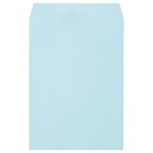 その他 (まとめ)キングコーポレーション ソフトカラー封筒角2 100g/m2 ブルー 業務用パック 160203 1箱(500枚)【×3セット】 ds-2219259