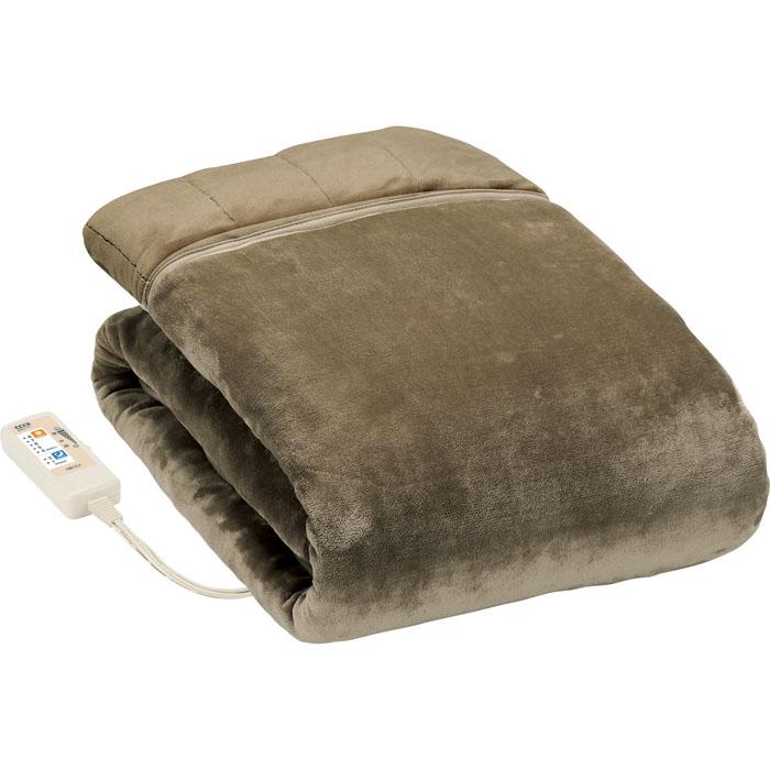 広電(KODEN) イヤなニオイも素早く消臭!フランネル素材厚手掛敷毛布 シングルサイズ CWK806S