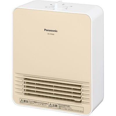 パナソニック トイレ、脱衣所に最適なコンパクト温風機セラミックファンヒーター DS-FP600-W