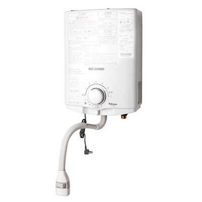 パロマ 【寒冷地専用】小型湯沸器 元止式(ヒーター付)プロパンガスLP PH-5BVH-LP