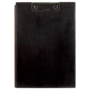 その他 (まとめ) キングジム レザフェス クリップボード A4 黒 1932LF 1枚 【×10セット】 ds-2233773
