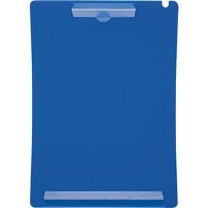 その他 (まとめ) ライオン事務器 アンケートボードA4タテ ブルー QB-220-5P 1パック(5枚) 【×10セット】 ds-2233787
