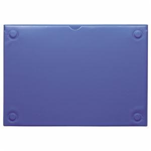 その他 (まとめ) ライオン事務器 マグネットカードケースA4 ブルー MCC-A4 1枚 【×10セット】 ds-2234442