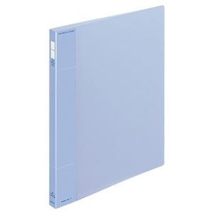 その他 (まとめ) コクヨ ポップリングファイル(スリム) A4タテ 2穴 100枚収容 背幅21mm 青 フ-PS410B 1冊 【×20セット】 ds-2235170