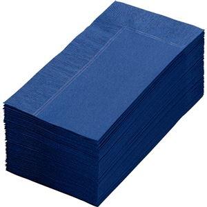 その他 (まとめ) カラーナプキン 2PLY 8つ折 ネイビーブルー 2PLU-28C-N 1パック(50枚) 【×30セット】 ds-2235642