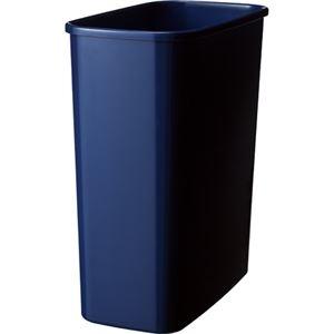 その他 (まとめ) TANOSEE エコダストボックス 角型 M 15.5L ダークブルー 1個 【×30セット】 ds-2235810
