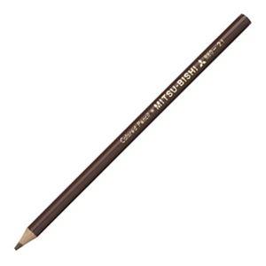 その他 (まとめ) 三菱鉛筆 色鉛筆880級 ちゃいろK880.21 1ダース 【×30セット】 ds-2235970