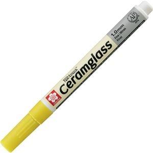 その他 (まとめ) サクラクレパス セラムグラス 細字 黄色GKS-P#3 1本 【×30セット】 ds-2236278