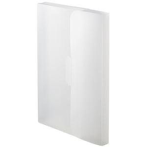 その他 (まとめ) TANOSEE PP製ケースファイルA4 背幅23mm ホワイト 1パック(3冊) 【×30セット】 ds-2236587