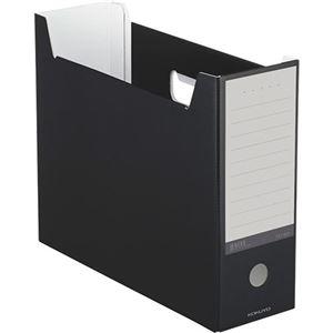 その他 (まとめ) コクヨ ファイルボックス(NEOS)A4ヨコ 背幅102mm ブラック A4-NELF-D 1冊 【×30セット】 ds-2236616