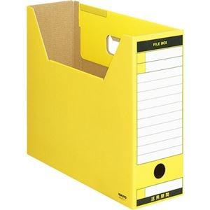 その他 (まとめ) コクヨファイルボックス-FS(Tタイプ) A4ヨコ 背幅102mm 黄 A4-LFT-Y 1冊 【×30セット】 ds-2236658