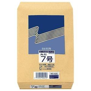 その他 (まとめ) ピース R40再生紙クラフト封筒 角7 85g/m2 625 1パック(100枚) 【×30セット】 ds-2236691
