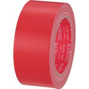 その他 (まとめ) スリオンテック カラー布テープ 50mm×25m 赤 343702RD 1巻 【×30セット】 ds-2237058