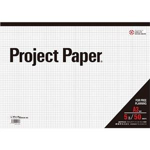 その他 (まとめ) オキナ プロジェクトペーパー A3 5mm方眼 50枚 PPA35S 1冊 【×30セット】 ds-2237295