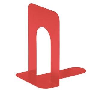 その他 (まとめ) TANOSEE ブックエンド T型 特大 コーラルレッド 1組(2枚) 【×30セット】 ds-2238161