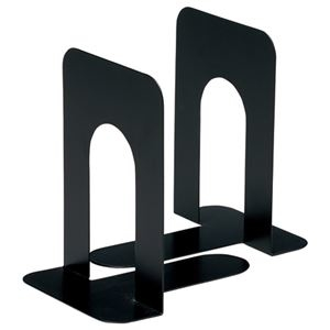 その他 (まとめ) TANOSEE ブックエンド T型 大 ブラック 1組(2枚) 【×30セット】 ds-2238169