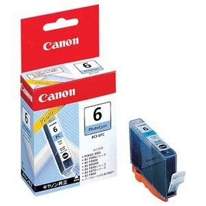 その他 (まとめ) キヤノン Canon インクタンク BCI-6PC フォトシアン 4709A001 1個 【×30セット】 ds-2238230