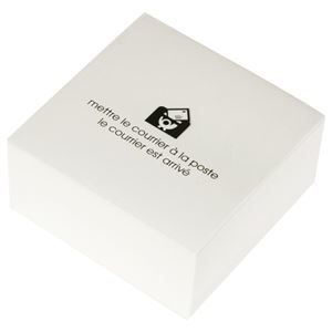 その他 (まとめ) エトランジェ・ディ・コスタリカブロックメモ 100×100mm ホワイト BLM-A-02 1冊 【×30セット】 ds-2238639