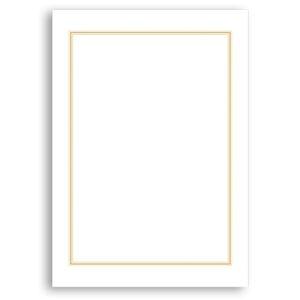 その他 (まとめ) タカ印 OA辞令用紙 三重枠 B5 9-1400 1冊(20枚) 【×30セット】 ds-2238642