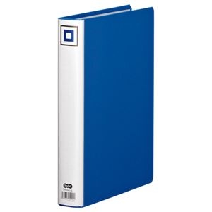 その他 (まとめ) TANOSEE 両開きパイプ式ファイルV A4タテ 300枚収容 背幅45mm 青 1冊 【×30セット】 ds-2238768