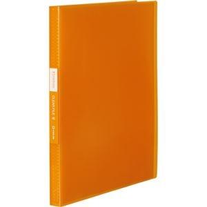 その他 (まとめ) キングジム シンプリーズクリアーファイル(透明) A4タテ 40ポケット 背幅22mm オレンジ TH184TSPWO 1冊 【×30セット】 ds-2238791