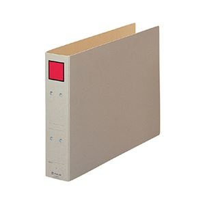 その他 (まとめ) キングジム 保存ファイル B4ヨコ 500枚収容 背幅65mm ピクト赤 4395E 1冊 【×30セット】 ds-2238916