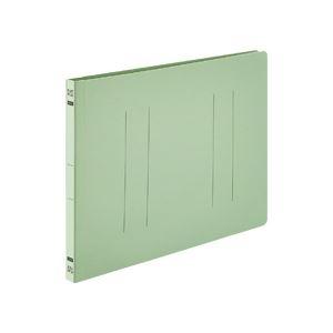 その他 (まとめ) TANOSEE フラットファイルE A4ヨコ 150枚収容 背幅18mm グリーン 1パック(10冊) 【×30セット】 ds-2238925