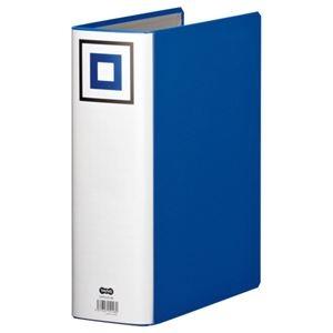 その他 (まとめ) TANOSEE 両開きパイプ式ファイルV A4タテ 800枚収容 背幅95mm 青 1冊 【×30セット】 ds-2238939