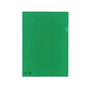 その他 (まとめ) リヒトラブ カラークリヤーホルダー A4緑 再生PP F-78EC-7 1パック(10枚) 【×30セット】 ds-2239090