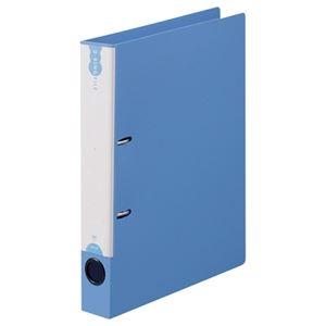 その他 (まとめ) TANOSEE Dリングファイル(PP表紙) A4タテ 2穴 250枚収容 背幅43mm ブルー 1冊 【×30セット】 ds-2239391