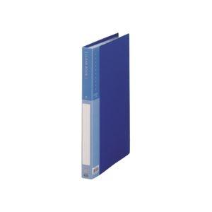 その他 (まとめ) TANOSEE クリヤーブック(クリアブック) A4タテ 40ポケット 背幅26mm ブルー 1冊 【×30セット】 ds-2239396