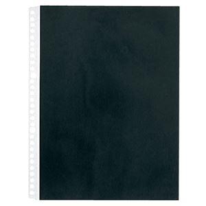 その他 (まとめ) キングジム カラーベースポケットA4タテ 2・4・30穴 黒 103CP 1パック(10枚) 【×30セット】 ds-2239588