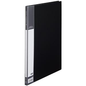 その他 (まとめ) TANOSEE書類が入れやすいクリヤーファイル「ヨコカラ」 A4タテ 40ポケット 背幅11mm ダークグレー 1冊 【×30セット】 ds-2239651