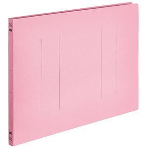 その他 (まとめ) TANOSEEフラットファイルE(エコノミー) B4ヨコ 150枚収容 背幅18mm ピンク 1パック(10冊) 【×30セット】 ds-2239831