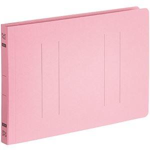 その他 (まとめ) TANOSEEフラットファイルE(エコノミー) A5ヨコ 150枚収容 背幅18mm ピンク 1パック(10冊) 【×30セット】 ds-2239919