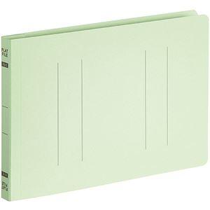 その他 (まとめ) TANOSEEフラットファイルE(エコノミー) A5ヨコ 150枚収容 背幅18mm グリーン 1パック(10冊) 【×30セット】 ds-2239920