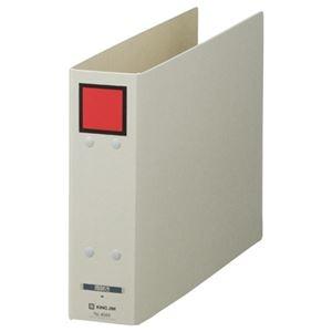 その他 (まとめ) キングジム 保存ファイル ドッチA4ヨコ 500枚収容 50mmとじ 背幅65mm ピクト赤 4085 1冊 【×30セット】 ds-2239954