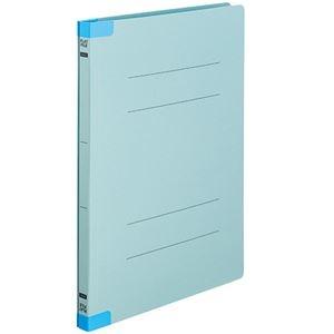 その他 (まとめ) TANOSEEフラットファイル(背補強タイプ) A4タテ 150枚収容 背幅18mm ブルー 1パック(10冊) 【×30セット】 ds-2239980