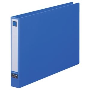 その他 (まとめ) キングジム レバーリングファイルA4ヨコ 2穴 250枚収容 背幅33mm 青 3682 1冊 【×30セット】 ds-2240036