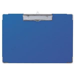 その他 (まとめ) セキセイ カラー用箋挟 A4ヨコ Y-55C-10ブルー 1枚 【×30セット】 ds-2240938