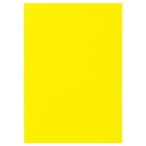 その他 (まとめ) TANOSEE 色画用紙 四つ切 レモン 1パック(10枚) 【×30セット】 ds-2241043