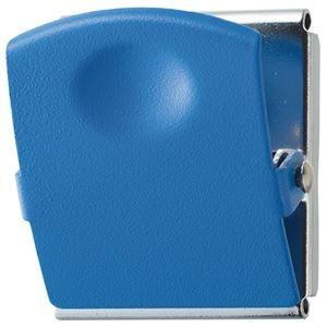 その他 (まとめ) TANOSEE 超強力マグネットクリップL ブルー 1個 【×30セット】 ds-2241226