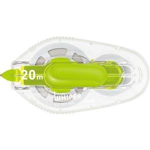 その他 (まとめ) プラス 修正テープ ホワイパーLT4mm幅×20m グリーン WH-1404 1個 【×50セット】 ds-2241997