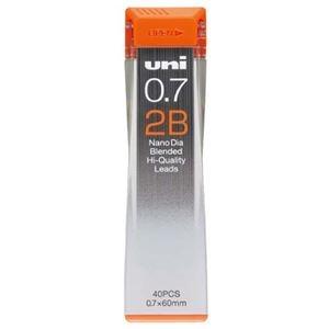 その他 (まとめ) 三菱鉛筆 シャープ SHARP替芯 ユニ ナノダイヤ 0.7mm 2B U07202ND2B 1個(40本) 【×50セット】 ds-2242328