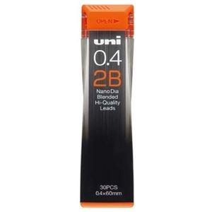 その他 (まとめ) 三菱鉛筆 シャープ SHARP替芯 ユニ ナノダイヤ 0.4mm 2B U04202ND2B 1個(30本) 【×50セット】 ds-2242337