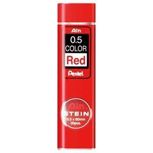 その他 (まとめ) ぺんてる シャープ SHARP替芯 アイン シュタイン 0.5mm 赤芯 C275-RD 1個(20本) 【×50セット】 ds-2242354
