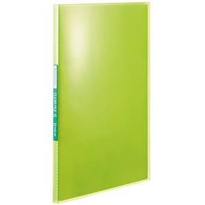 その他 (まとめ) キングジム シンプリーズクリアーファイル(透明) A4タテ 20ポケット 背幅12mm 黄緑 TH184TSPG 1冊 【×50セット】 ds-2243350