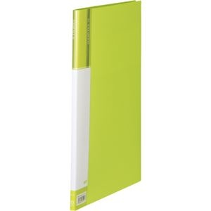 その他 (まとめ) TANOSEEクリヤーファイル(台紙入) A4タテ 10ポケット 背幅11mm ライトグリーン 1冊 【×50セット】 ds-2243418