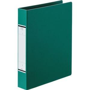 その他 (まとめ) TANOSEEOリングファイル(紙表紙) A4タテ 2穴 320枚収容 背幅52mm 緑 1冊 【×50セット】 ds-2243513